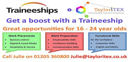 Traineeships Chart