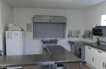 Side view of Main Catering Kitchen